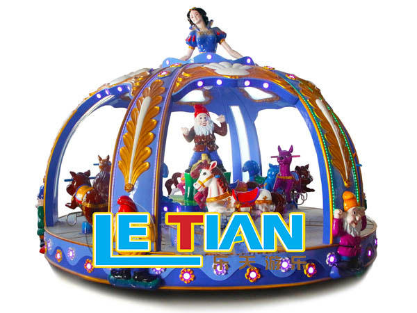 Amusement park carousel princess merry go round LT-8023