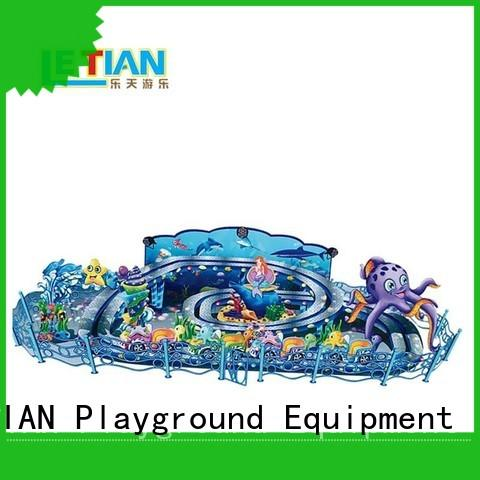LETIAN snail types of amusement park rides factory playground