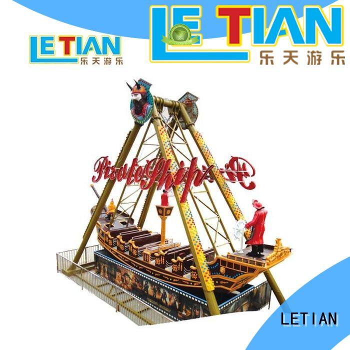 LETIAN rider pirate boat ride for kids theme park