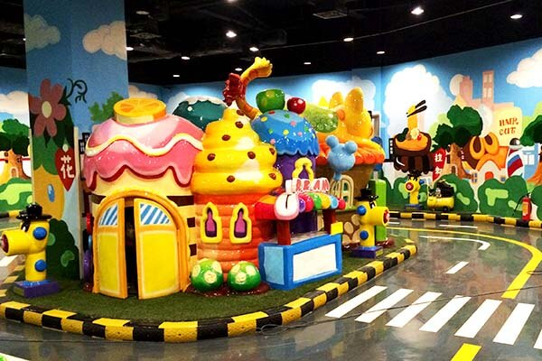 LETIAN rotating ride cup factory playground-8