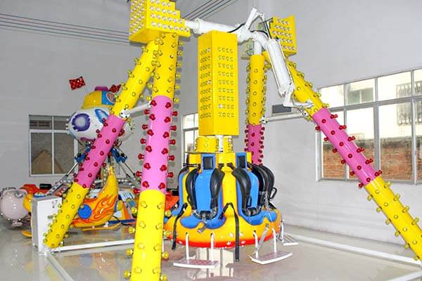 LETIAN rotating ride cup factory playground-10