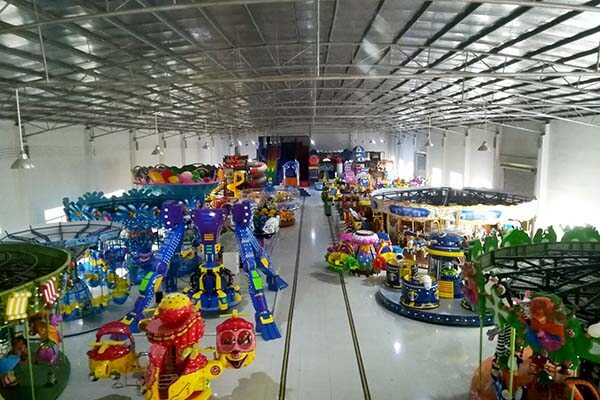 LETIAN rotating ride cup factory playground-13