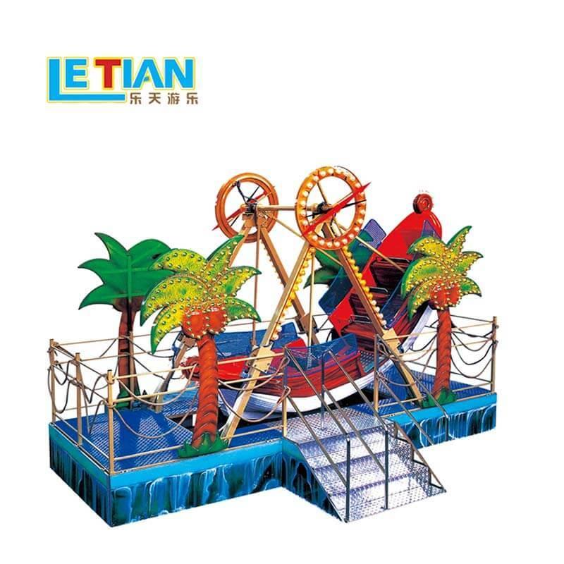 12 seats amusement rider park games mini pirate boat LT-7058A