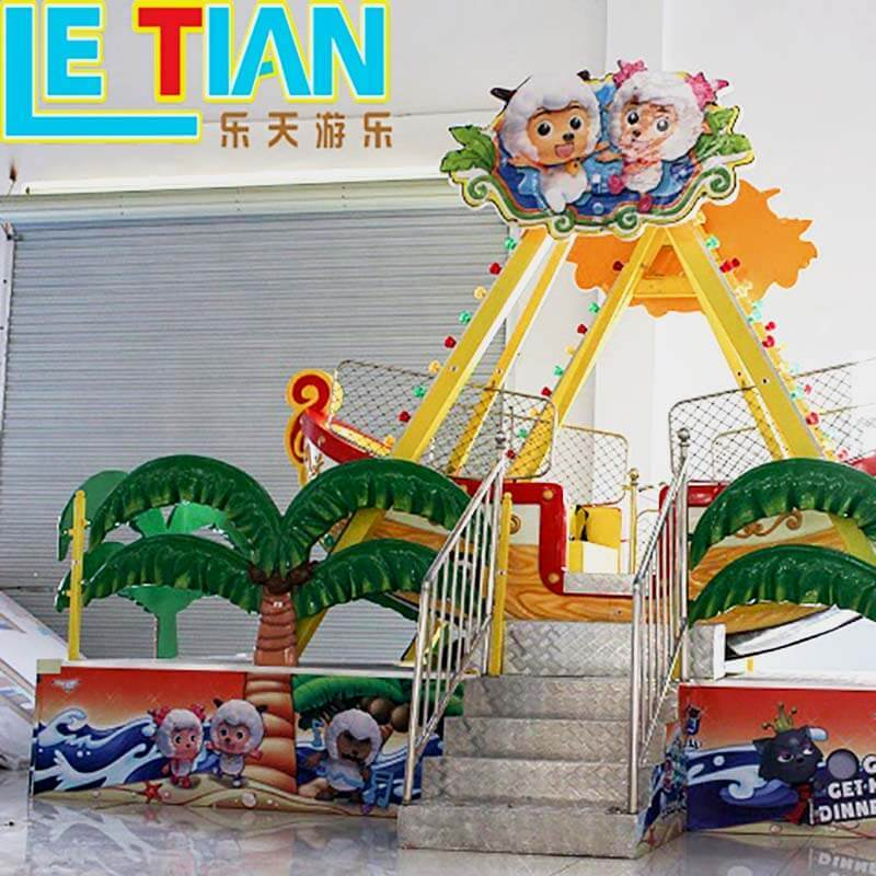 12 seats amusement rider park games mini pirate boat LT-7058A