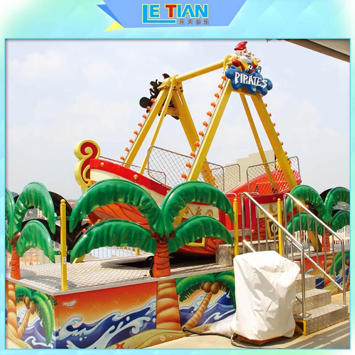 LETIAN sliding rides for kids carnival-2