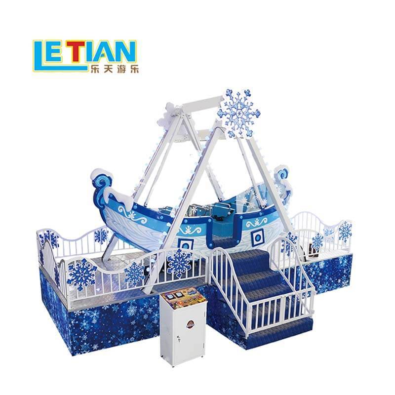 Amusement park rides pirate ship small kids pirate ship LT-7058B