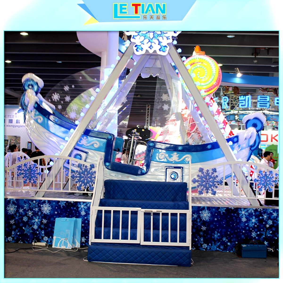 LETIAN revolve kiddie rides for sale for kids carnival-2