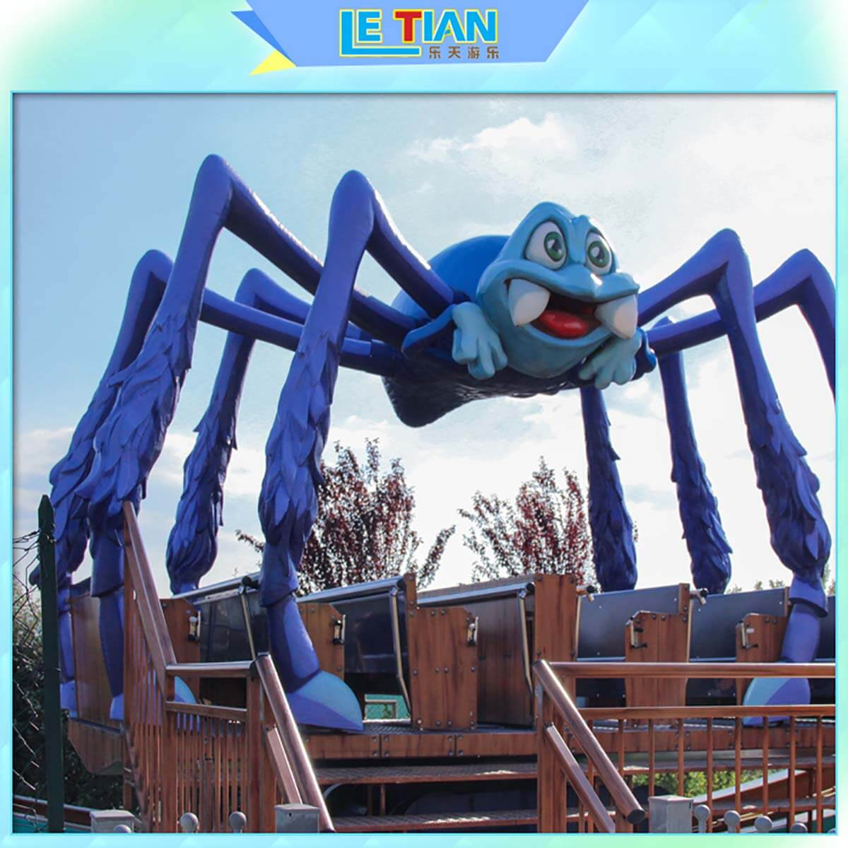 LETIAN amusing rides for kids mall-4