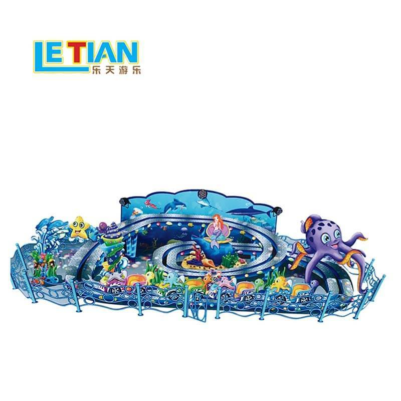Kids theme park climbing car rides rotating machine LT-7064