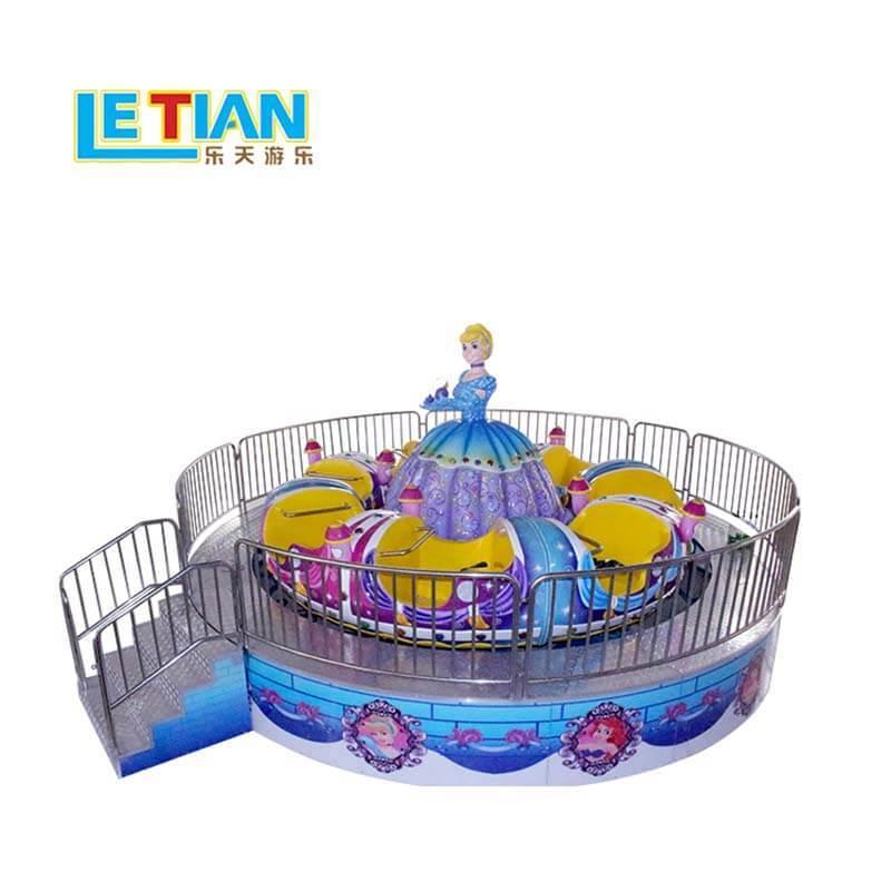 Princess merry go round kids tagada equipment ride LT-7065A