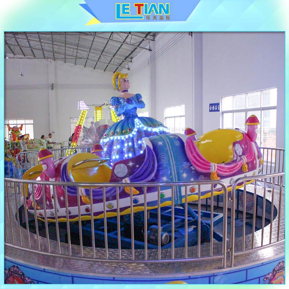 amusing spinning teacup ride ride supplier entertainment-2