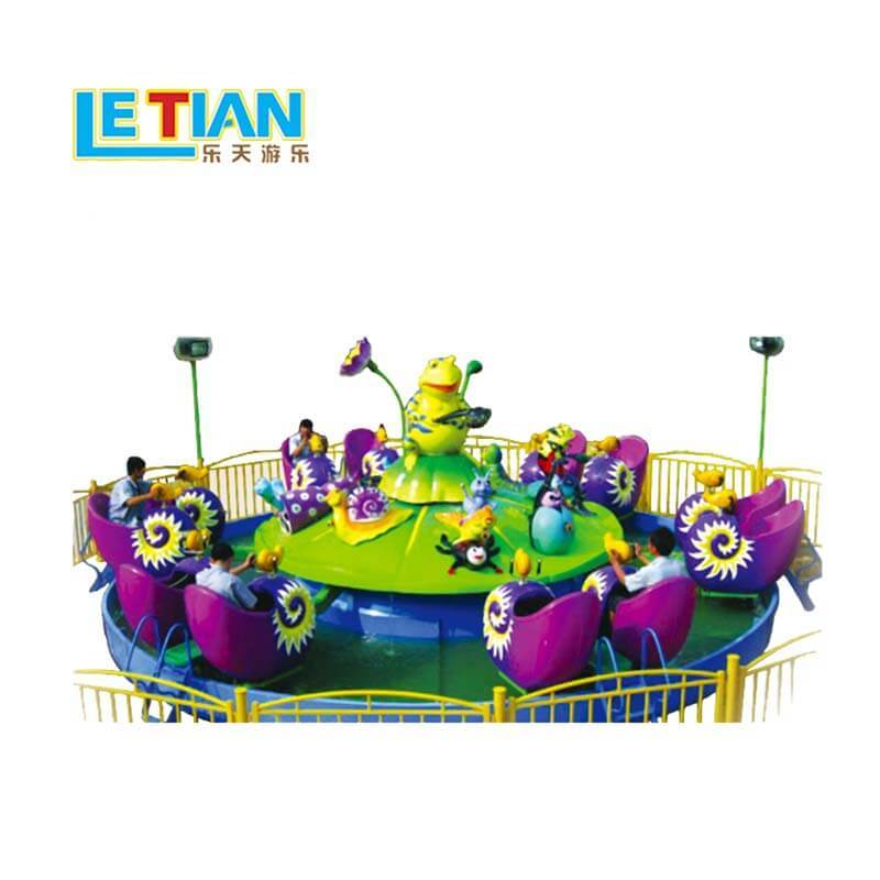 12 seats Snail agent team kids funfair equipment LT-7066A