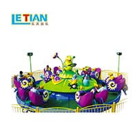 LETIAN rotating ride cup factory playground-1