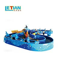 LETIAN rotating ride cup factory playground-2