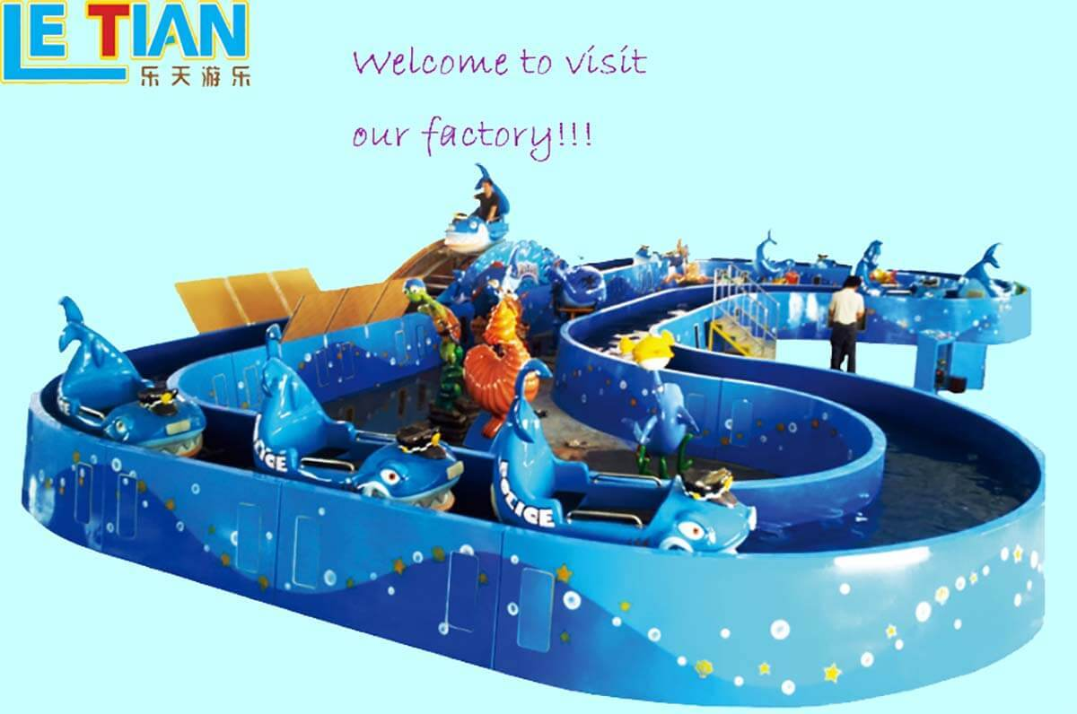 LETIAN rotating ride cup factory playground