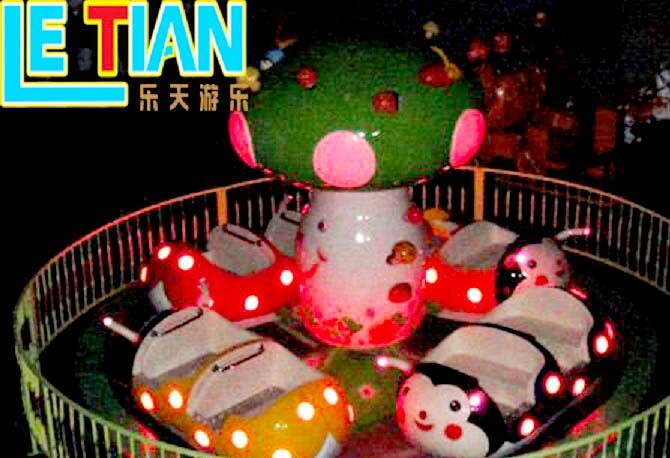 LETIAN rotating cup ride supplier amusement park-3