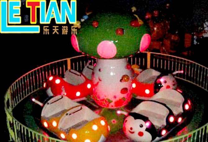 amusing spinning cup machine supplier playground-3