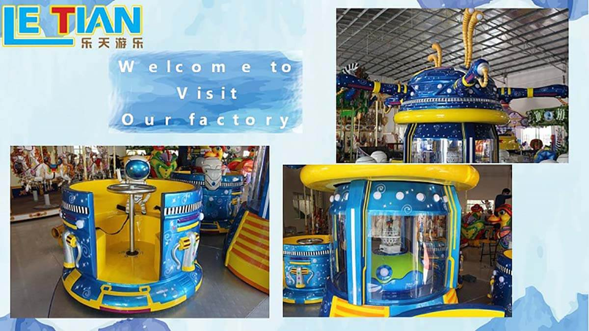 LETIAN rotating cup ride facility amusement park-3