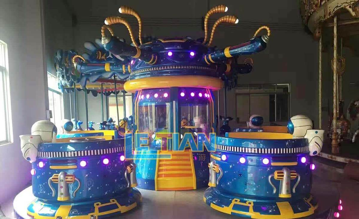 LETIAN amusing outdoor playground equipment facility theme park-4