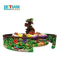 LETIAN round types of amusement park rides factory playground-2