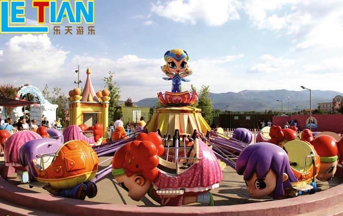 Self-control fair rides lifting for kids theme park-1