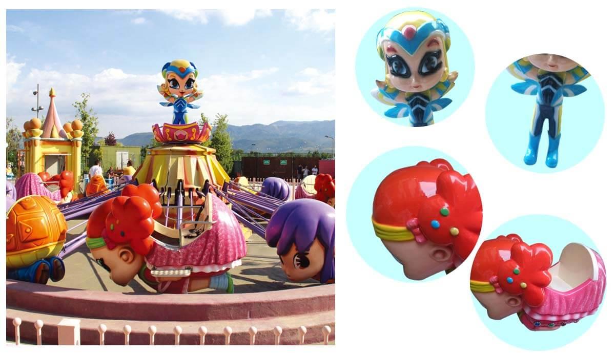 Self-control fair rides lifting for kids theme park-2