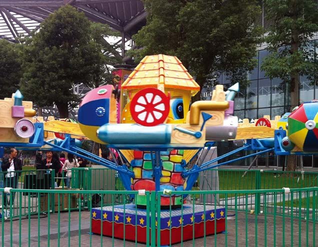 safe funfair equipment drift-4