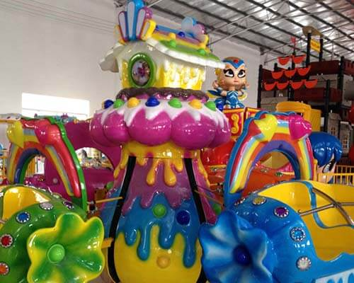 LETIAN Latest disco rides for kids park-3