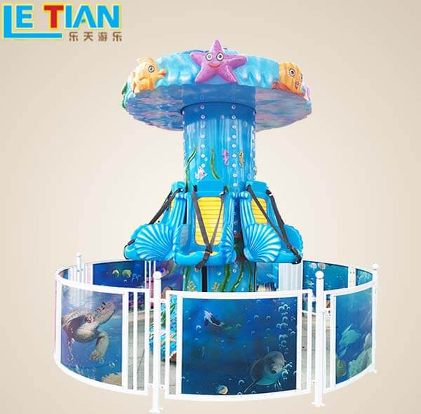 Latest funfair rides cartoon for child theme park-4