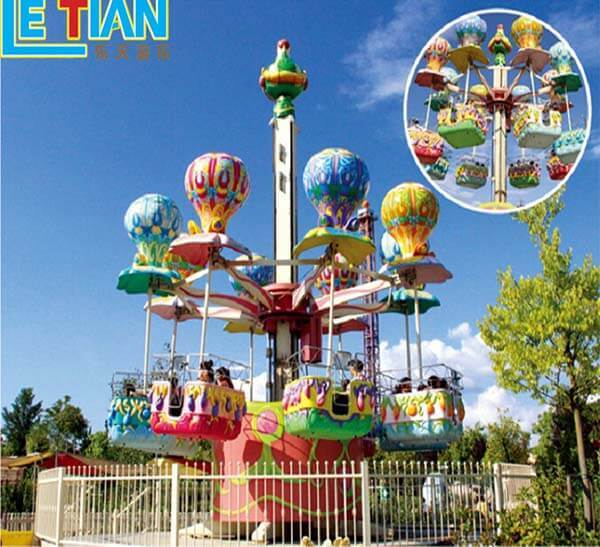 Latest funfair rides cartoon for child theme park