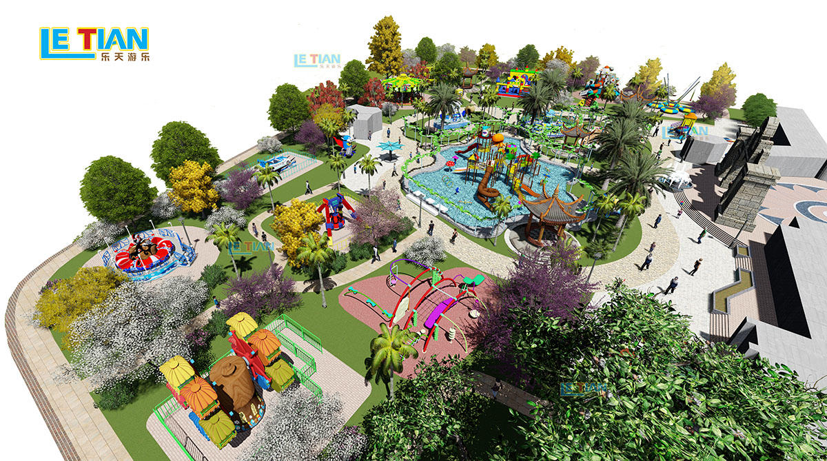 Whole amusement park design manufacturer