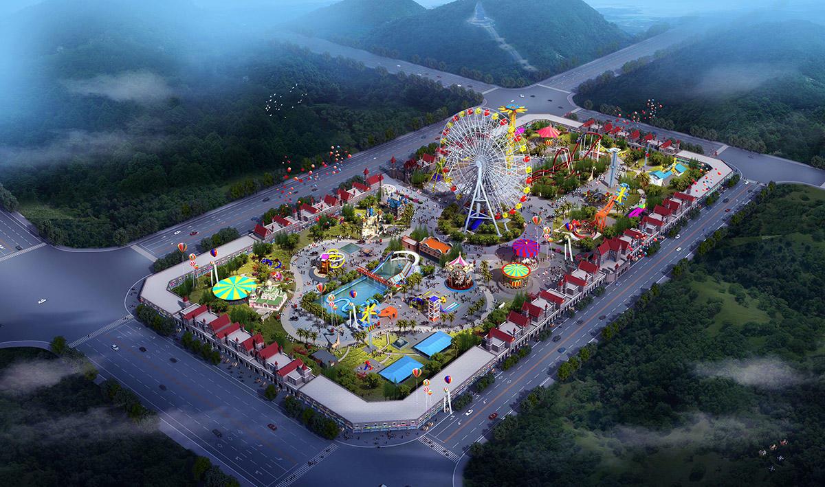 Kids amusement park design