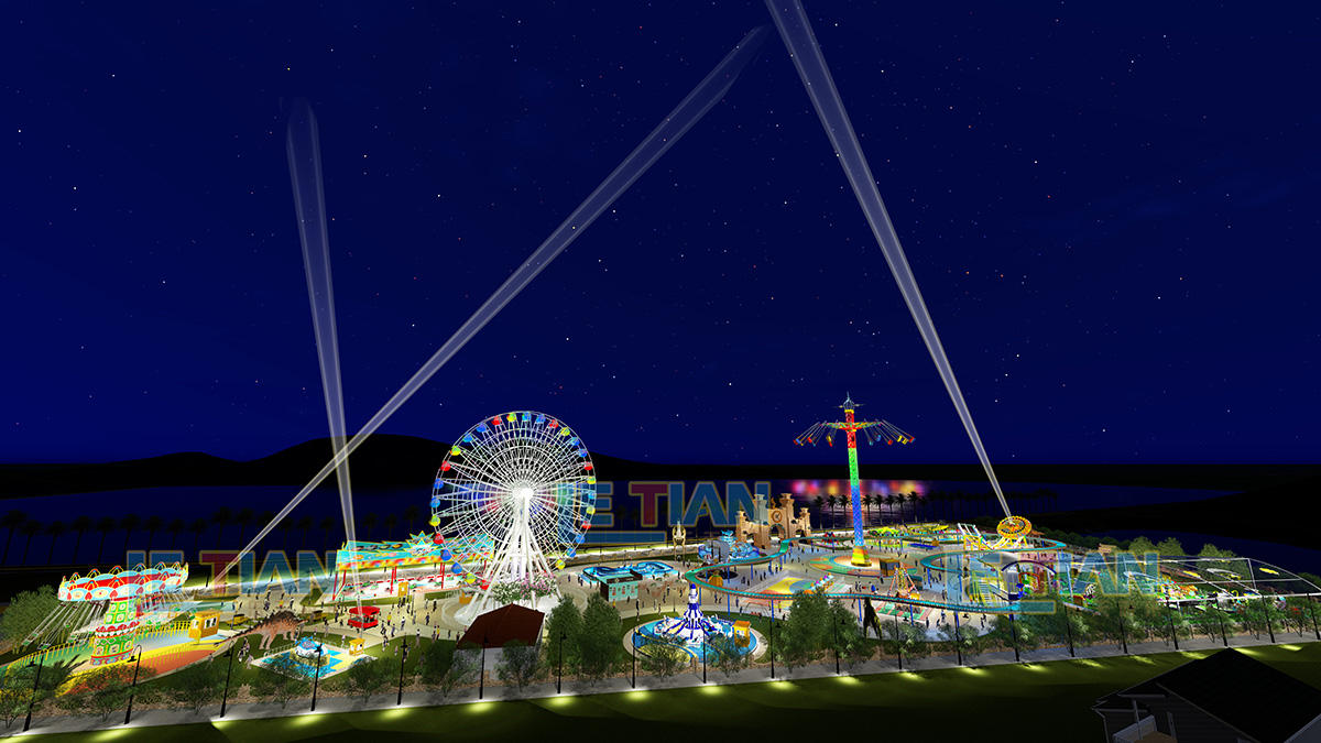 Large kids theme park design