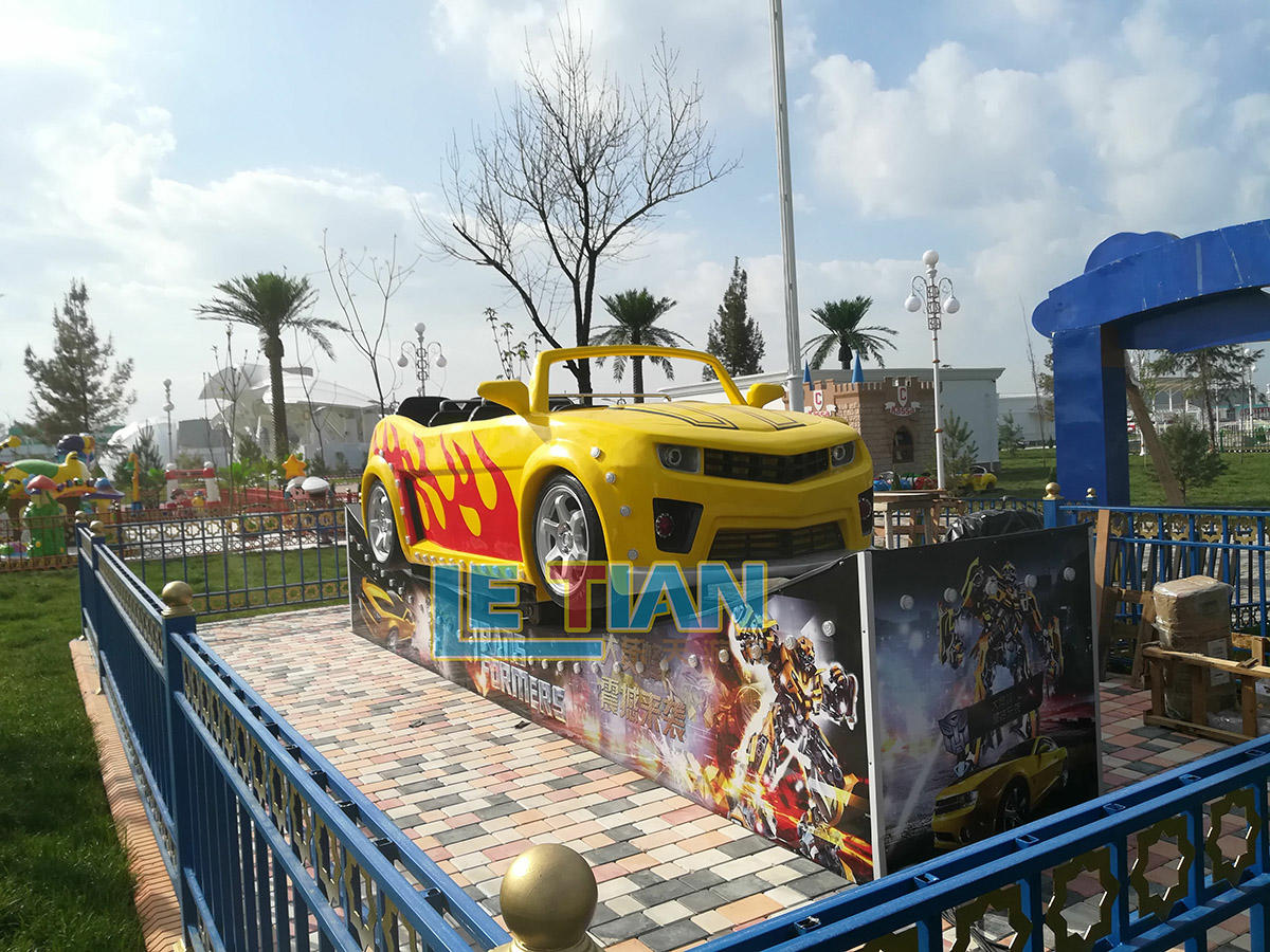 The Bumblebee sliding vehicle for the amusement park