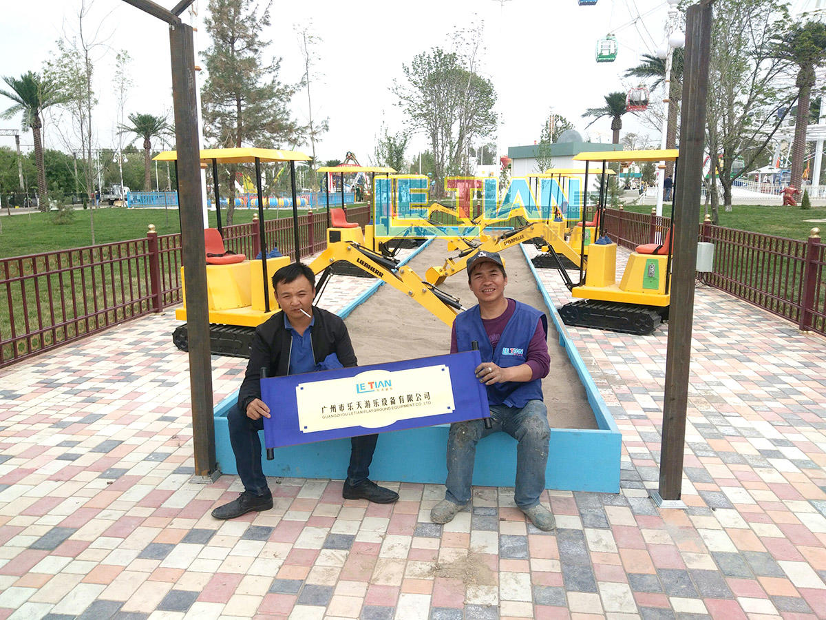 The child rooller coaster for the amusement park in Uzbekistan