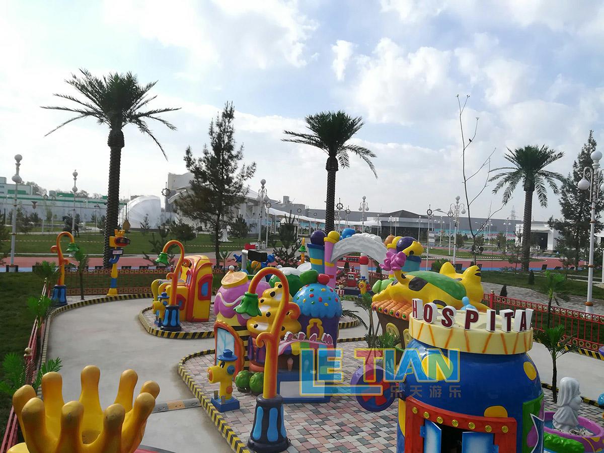 Playground Equipment in Uzbekistan