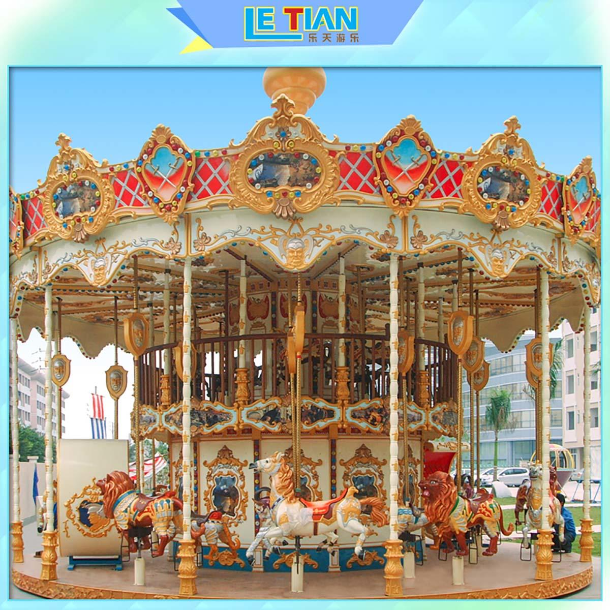 LETIAN kids carousel for kids supplier shopping centers