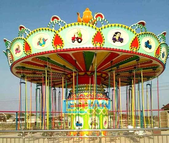 LETIAN fashionable chair swing ride customized theme park