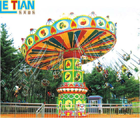 LETIAN fashionable chair swing ride customized theme park-7