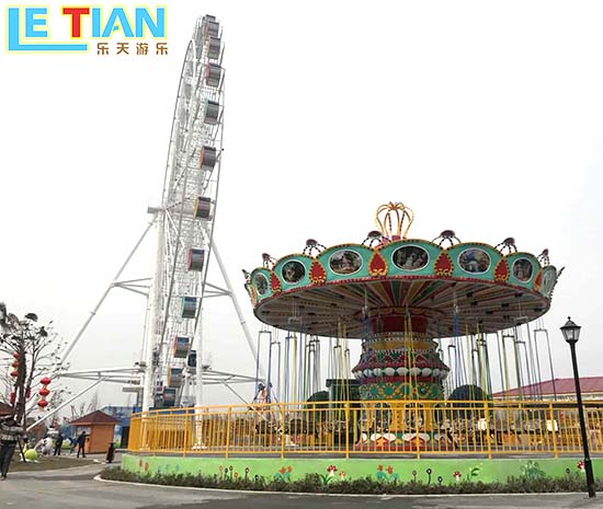 LETIAN fashionable chair swing ride customized theme park-8