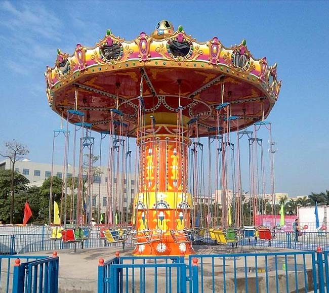 LETIAN fashionable chair swing ride customized theme park-5