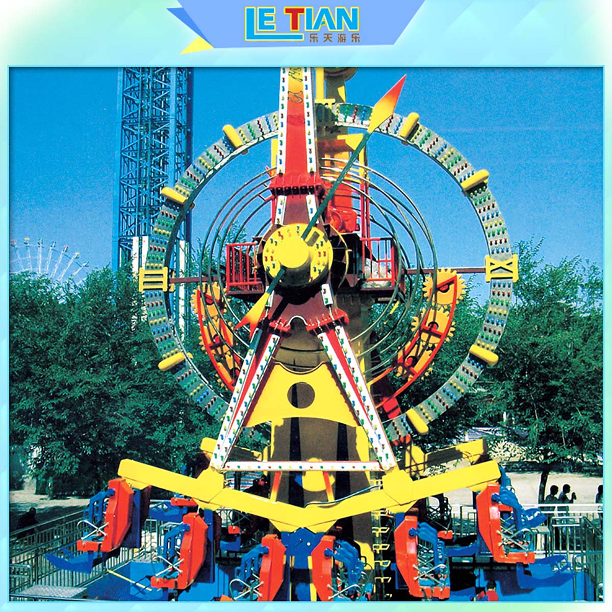LETIAN large big pendulum ride Suppliers mall-2