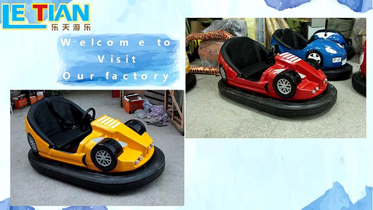 LETIAN lt7073a bumper car for sale amusement park