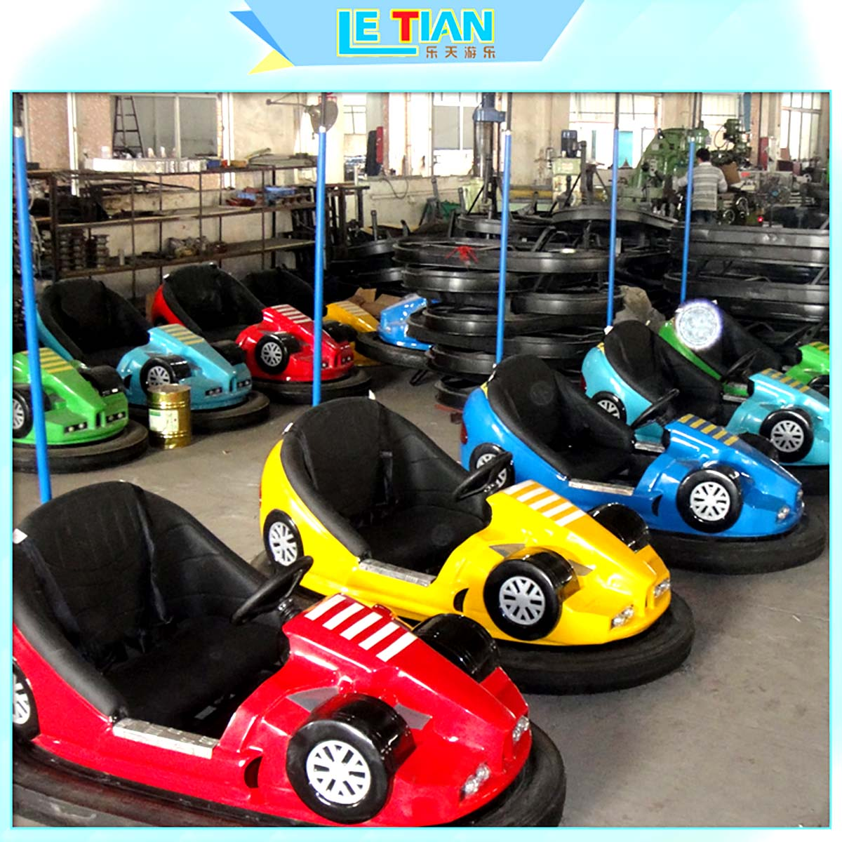 LETIAN without electric bumper cars manufacturers park-2