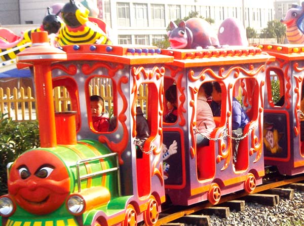 small train amusement park sightseeing for kids park playground-1