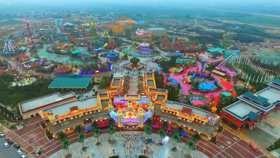 Amusement park planning programing