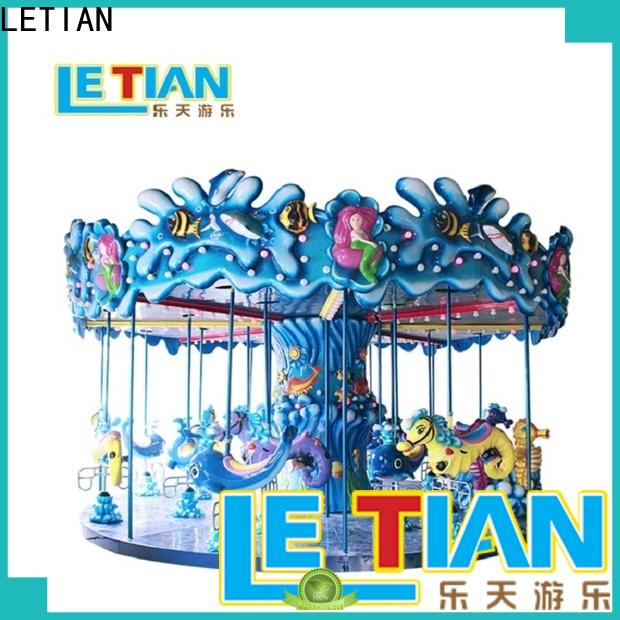 LETIAN Best small carousel for sale manufacturers fairground