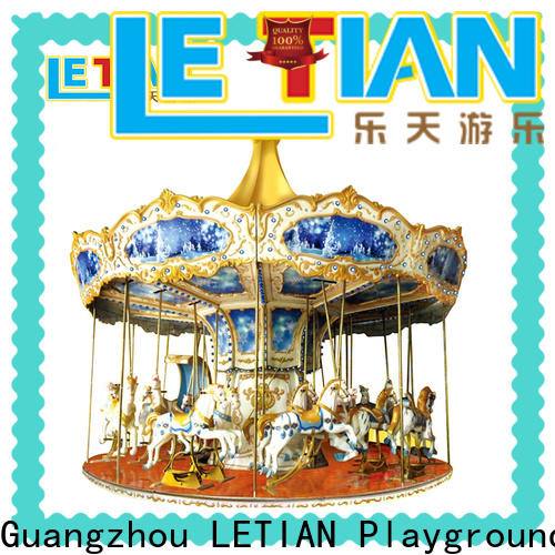 LETIAN High-quality carousel ride Suppliers carnival