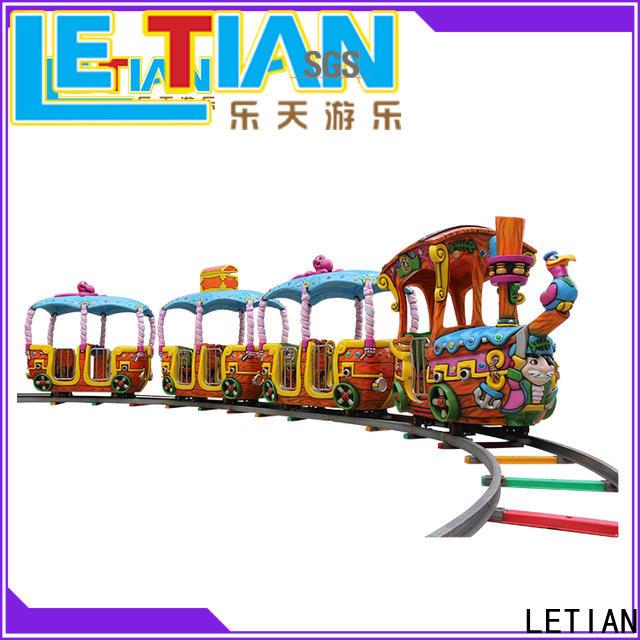 LETIAN Latest orbit train for sale park playground