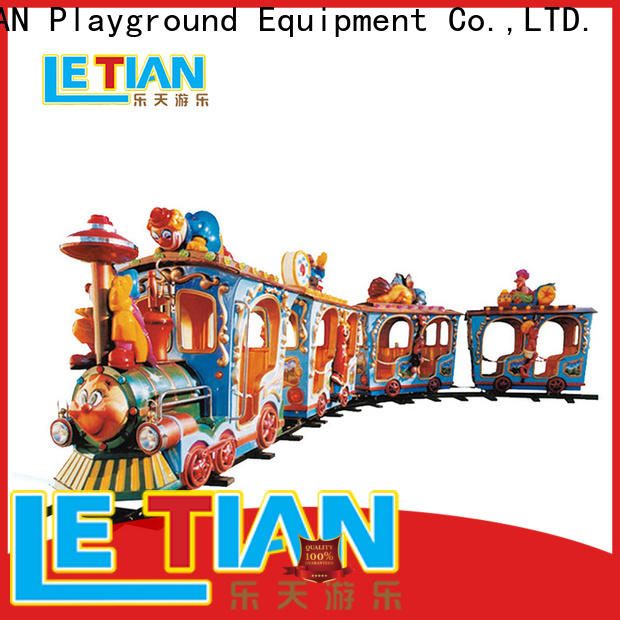 LETIAN made park train ride Suppliers children's palace